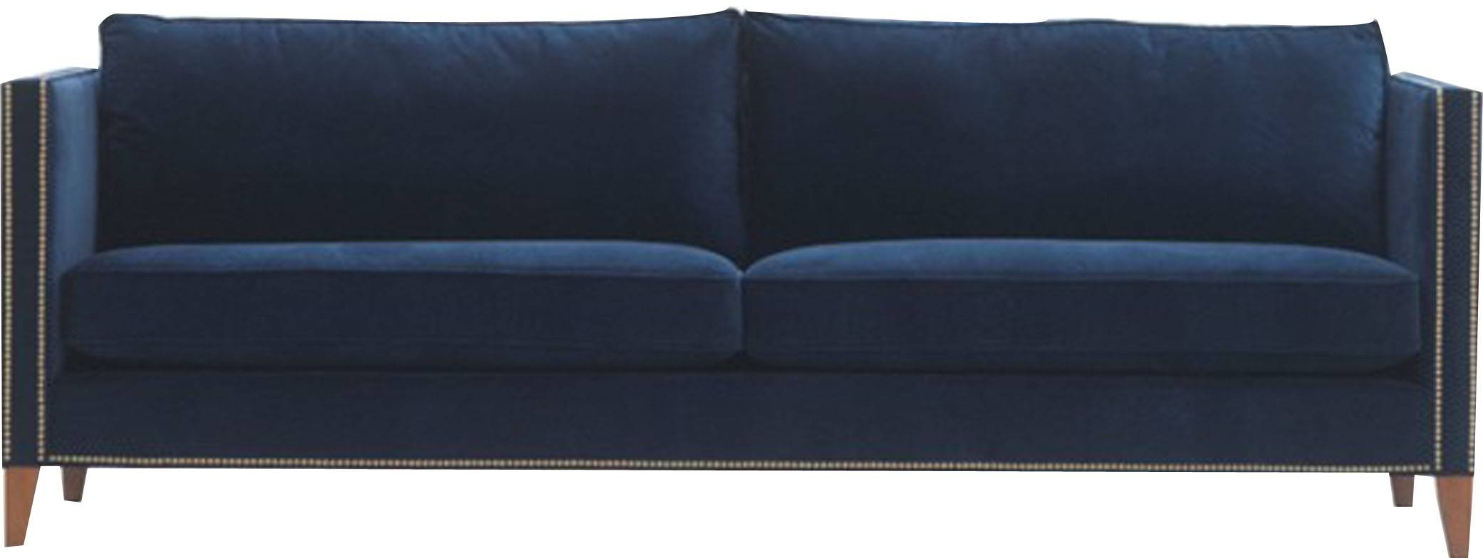 Blue Sofas For Your Home To Look Stylish – Designinyou/decor pertaining to Blue Sofas (Image 8 of 15)