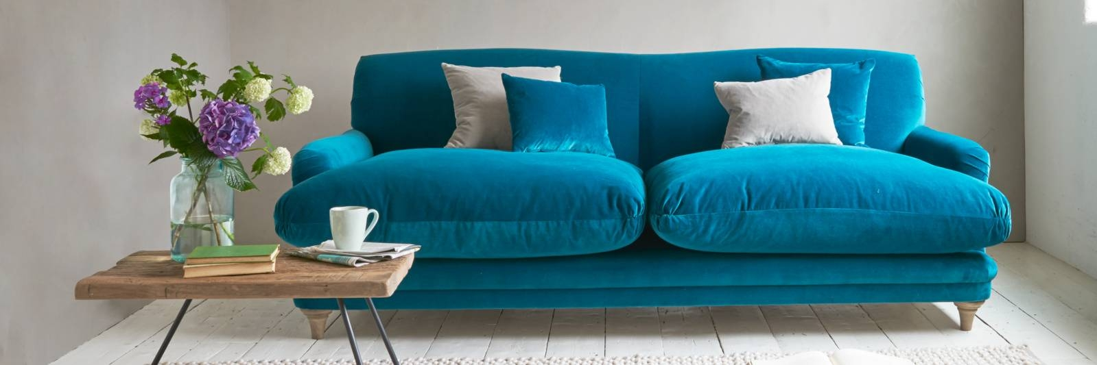 Blue Sofas | Lovely Fabric Sofas | Loaf pertaining to Blue Sofas (Image 9 of 15)