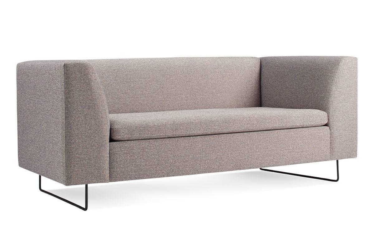 Bonnie Studio Sofa - Hivemodern throughout Blu Dot Sofas (Image 4 of 15)