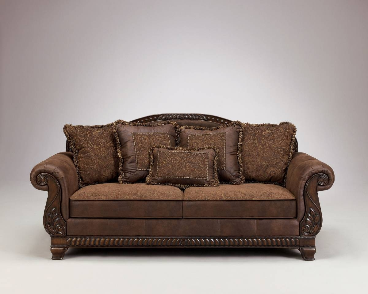 Bradington Traditional Truffle Fabric Sofa | Living Rooms | The with Bradington Truffle Sofas (Image 6 of 15)
