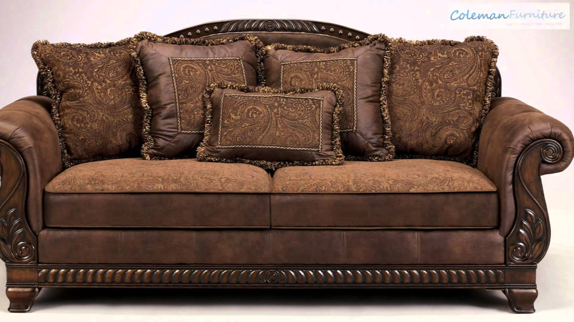 Featured Photo of Bradington Truffle Sofas