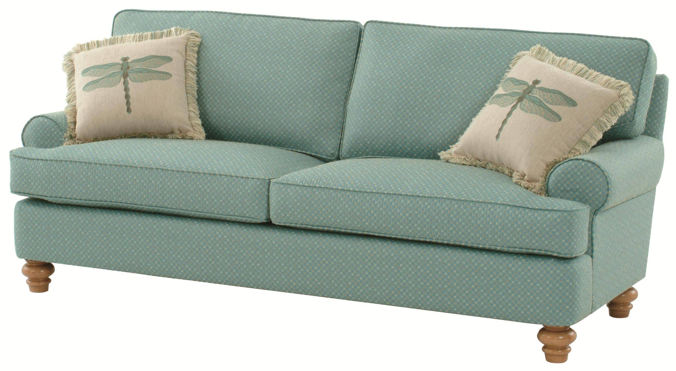 Braxton Culler 773 Lowell Stationary Cottage Styled Sofa - Ahfa regarding Braxton Sofas (Image 2 of 15)