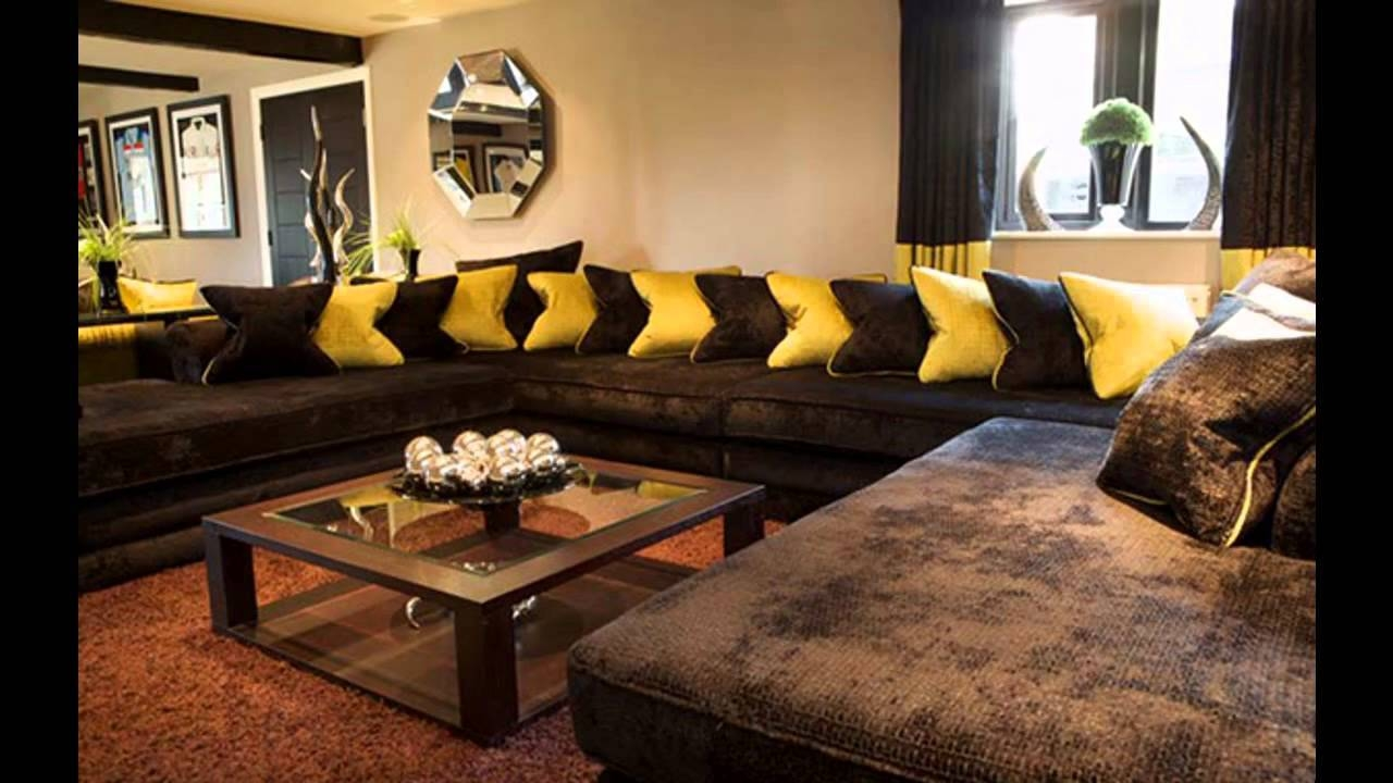 Showing Photos Of Brown Sofa Decors View 8 Of 15 Photos. Sofa : Awesome Living  Room ... Part 54
