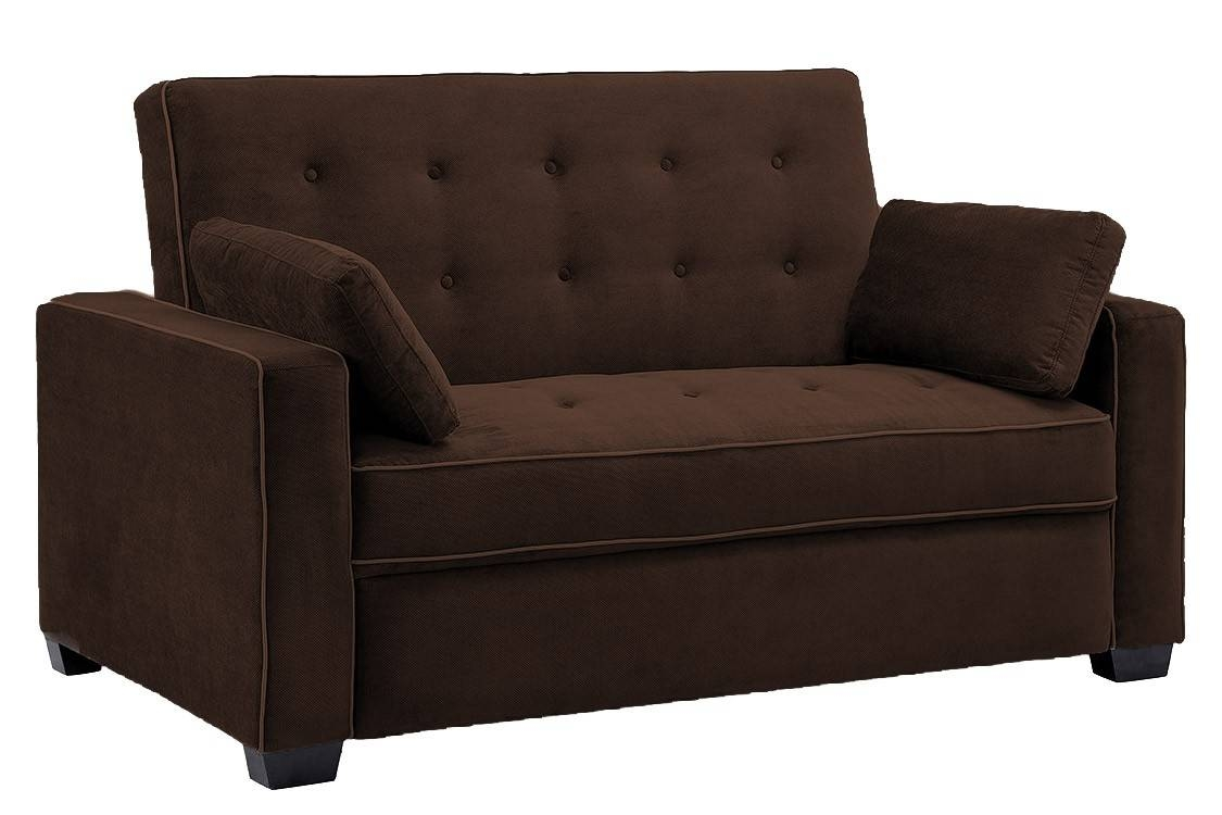 Brown Sofa Bed Futon Couch | Jacksonville Futon | The Futon Shop inside Convertible Futon Sofa Beds (Image 8 of 15)