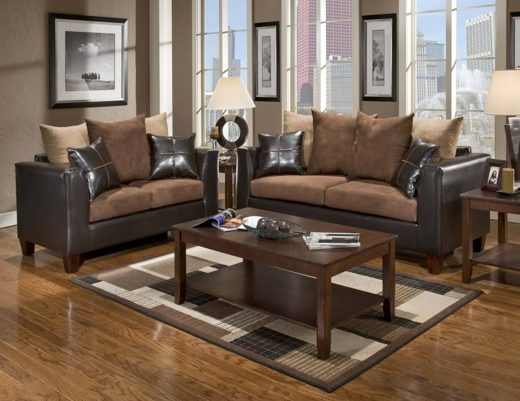 Brown Sofas Living Room Best Designs Ideas Of Shutterstock In in Living Room With Brown Sofas (Image 5 of 15)