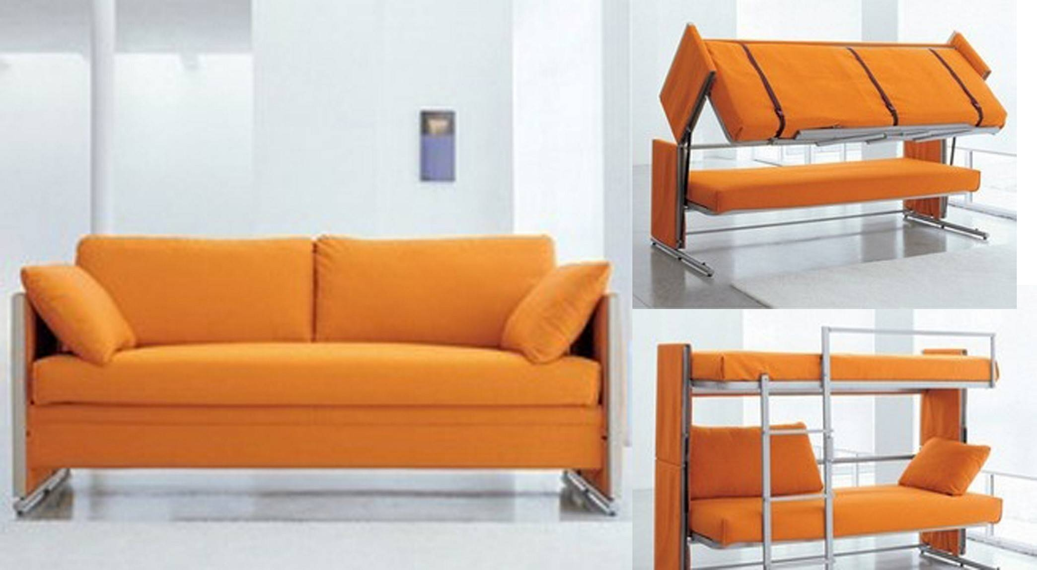 Bunk Bed Sofa For A Greater Room Design And Function inside Sofas Converts To Bunk Bed (Image 1 of 15)