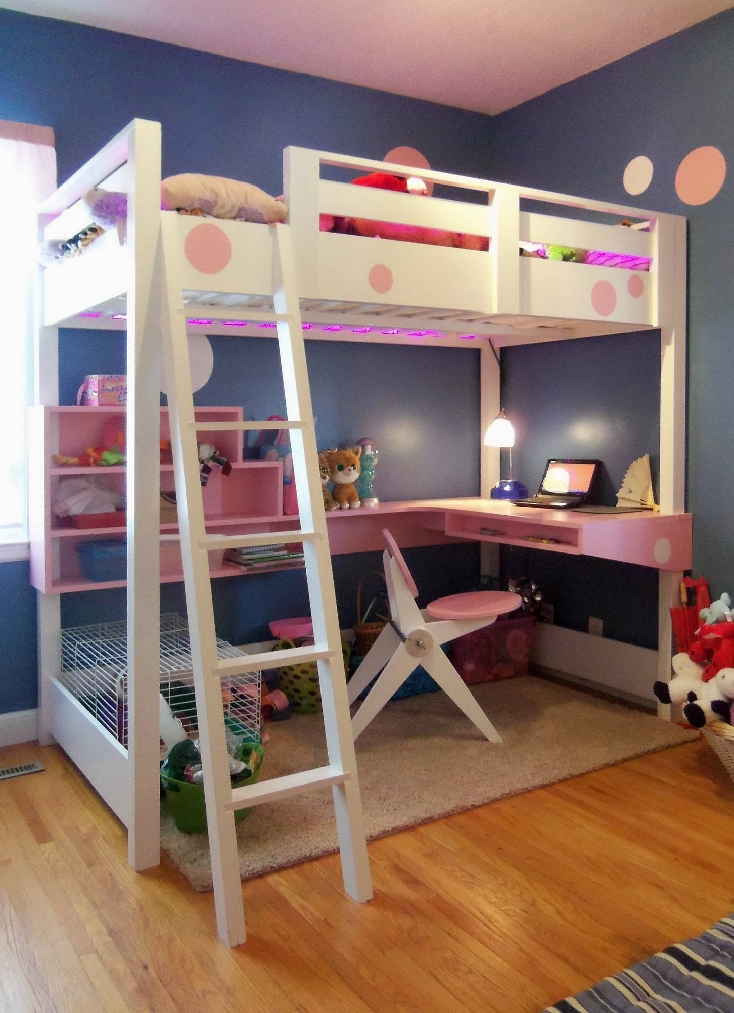 Bunk Beds With Desk And Sofa Underneath ~ Loversiq regarding Bunk Bed With Sofas Underneath (Image 9 of 15)