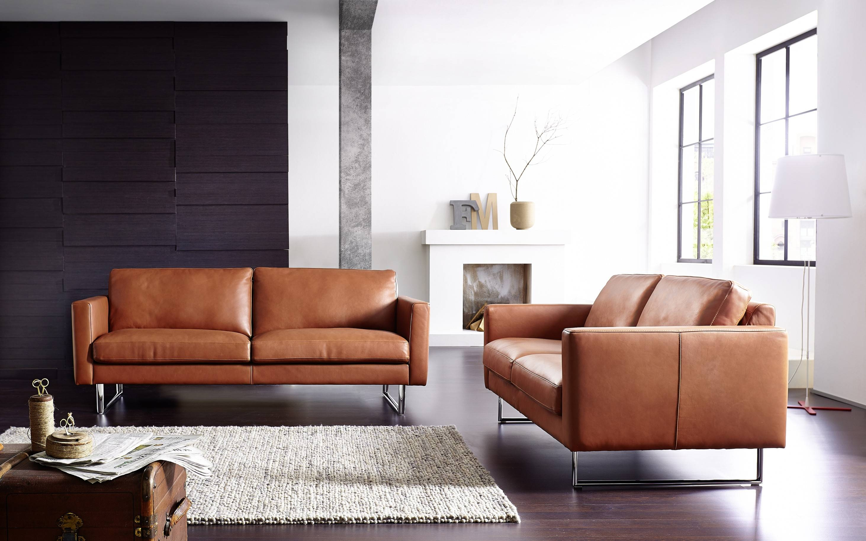 15 Best Collection Of Contemporary Brown Leather Sofas