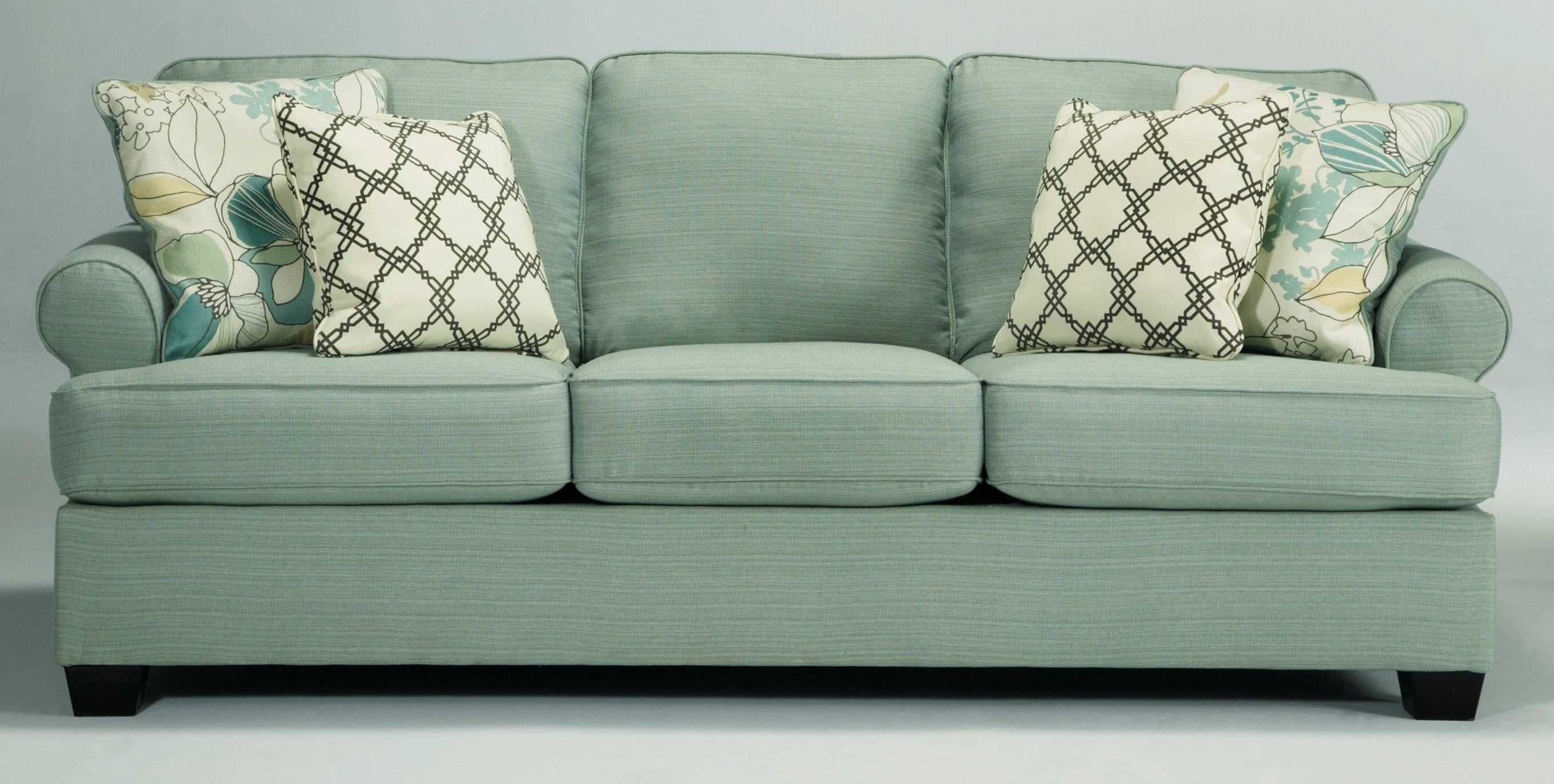Buy Ashley Furniture 2820038 Daystar Seafoam Sofa inside Seafoam Sofas (Image 2 of 15)