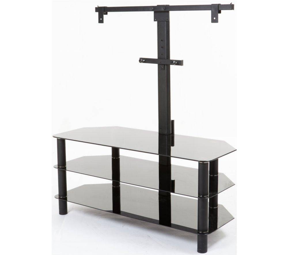 Buy Logik S105br14 Tv Stand With Bracket | Free Delivery | Currys Inside Smoked Glass Tv Stands (View 15 of 15)