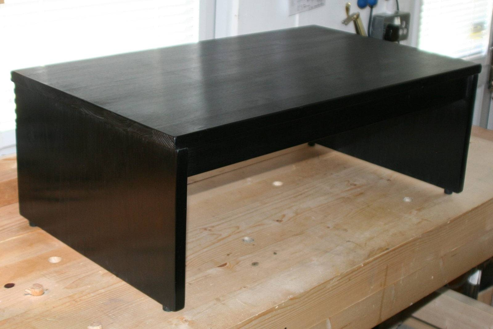 Buy Online: Wooden Tv Risers / Stands | David Rodgers, Furniture Maker in Tv Riser Stand (Image 2 of 15)