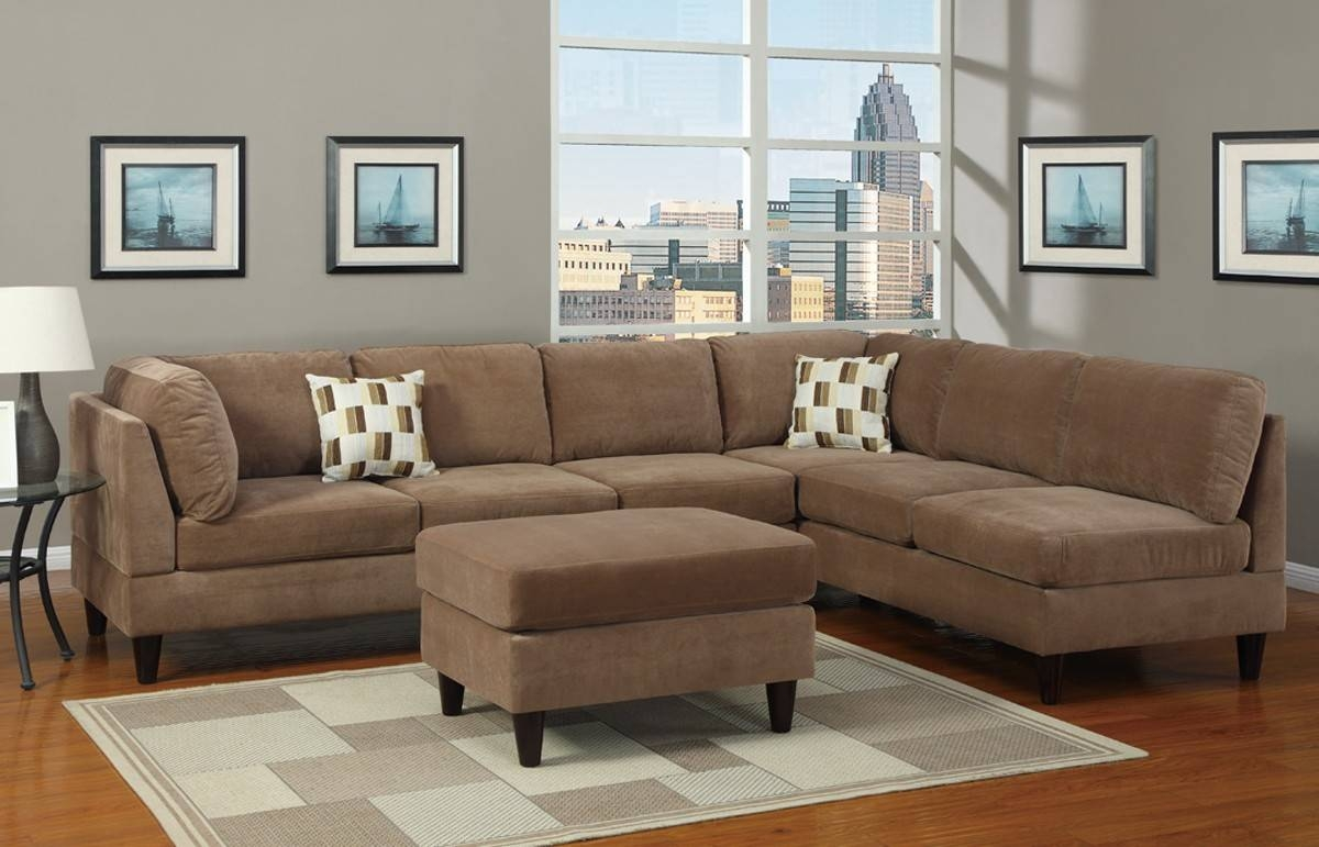 Buy Simple And Easy To Maintain Microfiber Sofa intended for Microfiber Sectional Sofas (Image 3 of 15)