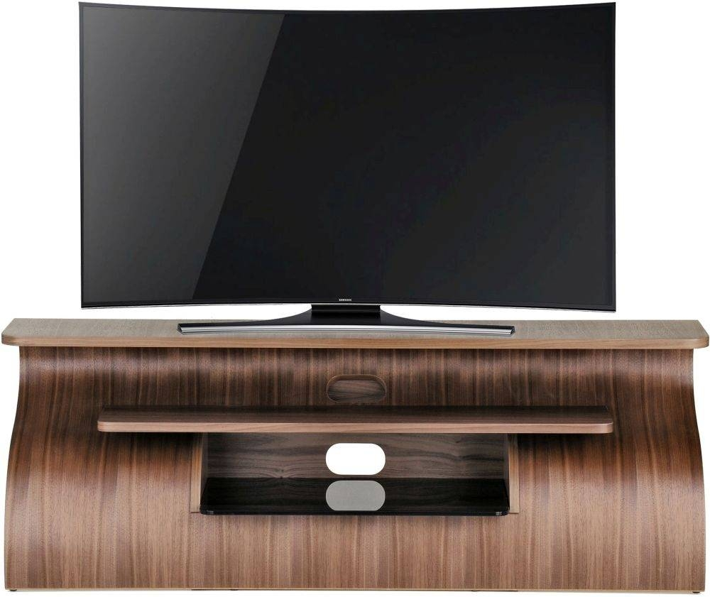 Buy Tom Schneider Surge 1350 Walnut Tv Stand Online – Cfs Uk Intended For Walnut Tv Stands (View 9 of 15)