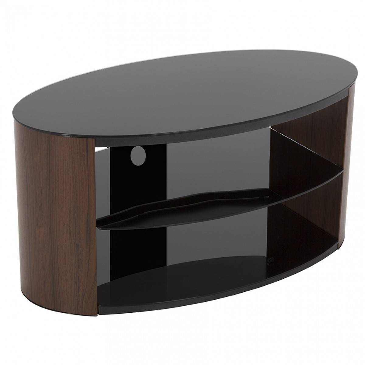 Buy Tv Stands With Brackets, Corner Tv Stands For Sale From Tv With Regard To White Oval Tv Stands (View 15 of 15)