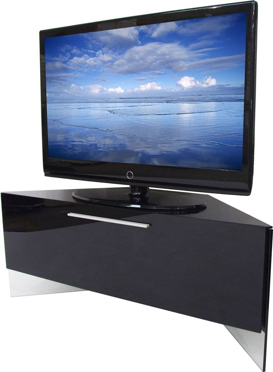 Best 15 Of Black High Gloss Corner Tv Unit