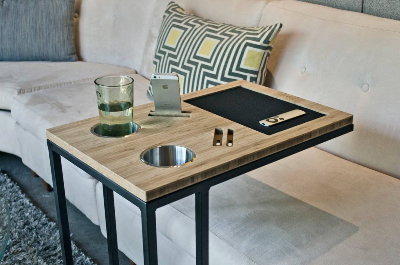 Caddy: You And Your Sofa's Best Friend - Design Milk with regard to Sofas With Drink Holder (Image 1 of 15)