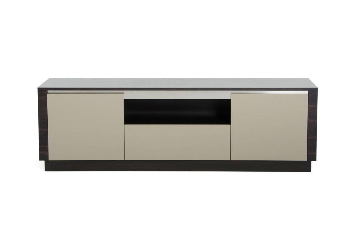 Caligari Modern Oak & Grey Gloss Tv Stand with regard to Modern Wooden Tv Stands (Image 2 of 15)