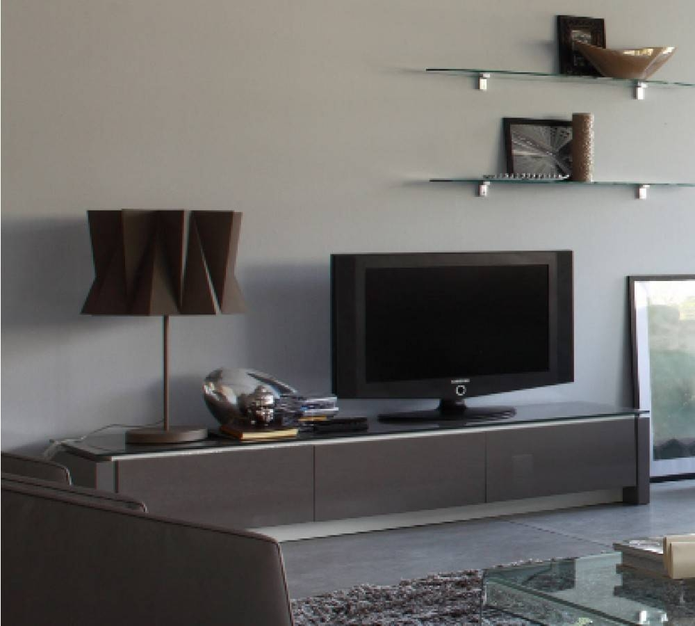 Calligaris Mag Low Tv Unit – Design Icons For Low Tv Units (View 2 of 15)