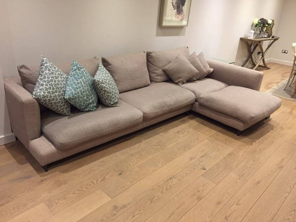 Camerich Lazytime Plus Cappuccino Corner Sofa | In Kilburn, London with regard to Camerich Sofas (Image 7 of 15)