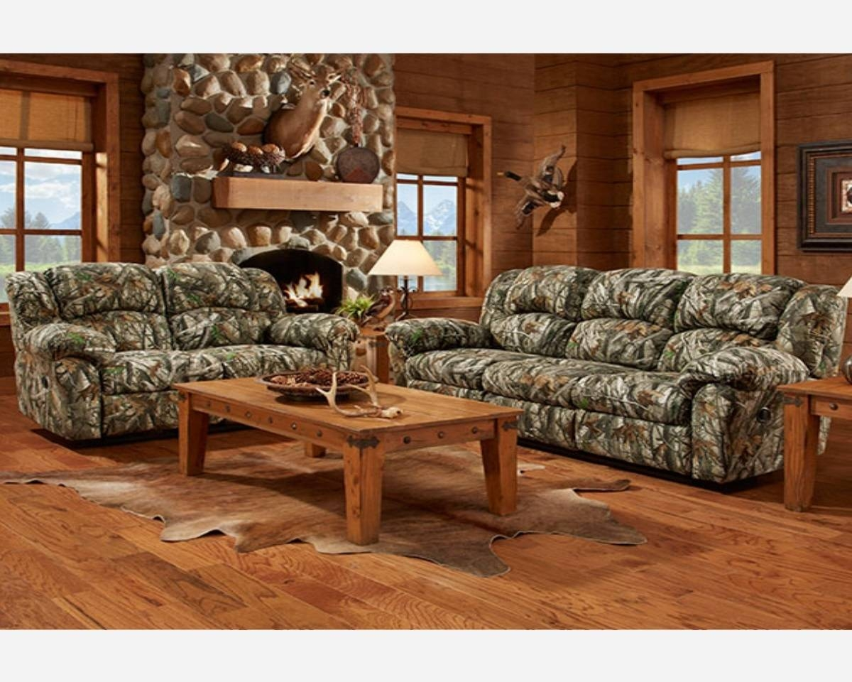 Camo Reclining Sofa throughout Camo Reclining Sofas (Image 4 of 15)