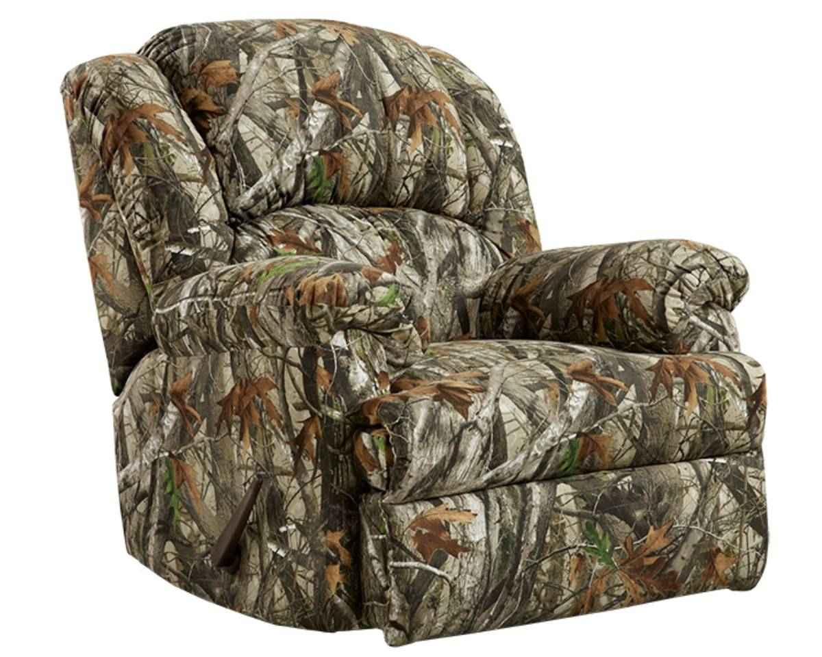 Camo Reclining Sofa within Camo Reclining Sofas (Image 5 of 15)