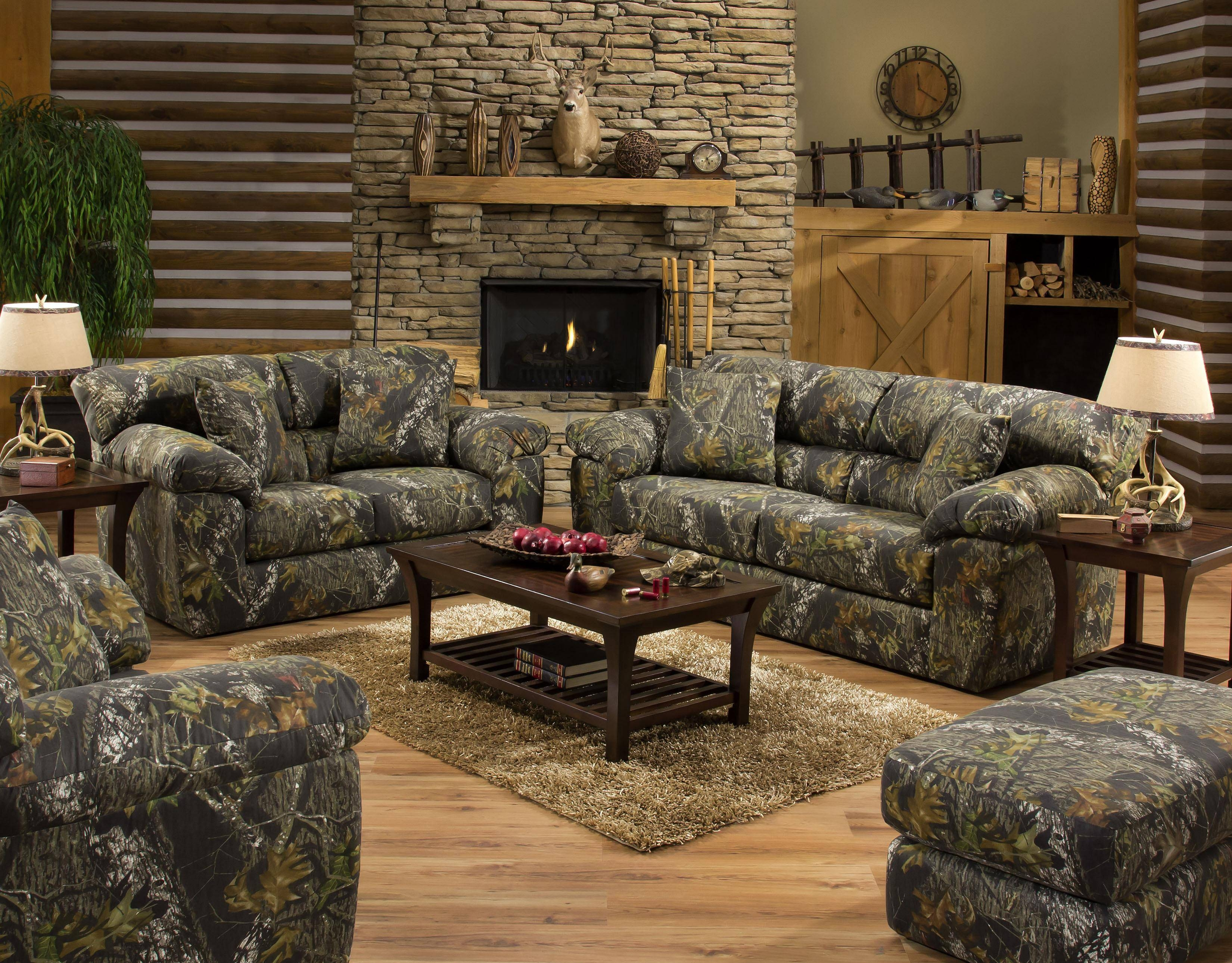 Camouflage Two Seat Loveseatjackson Furniture | Wolf And pertaining to Camouflage Sofas (Image 6 of 15)