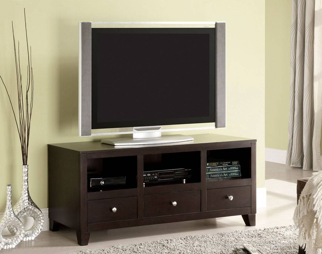 Capulin Espresso Tv Stand | La Furniture Center regarding Expresso Tv Stands (Image 7 of 15)