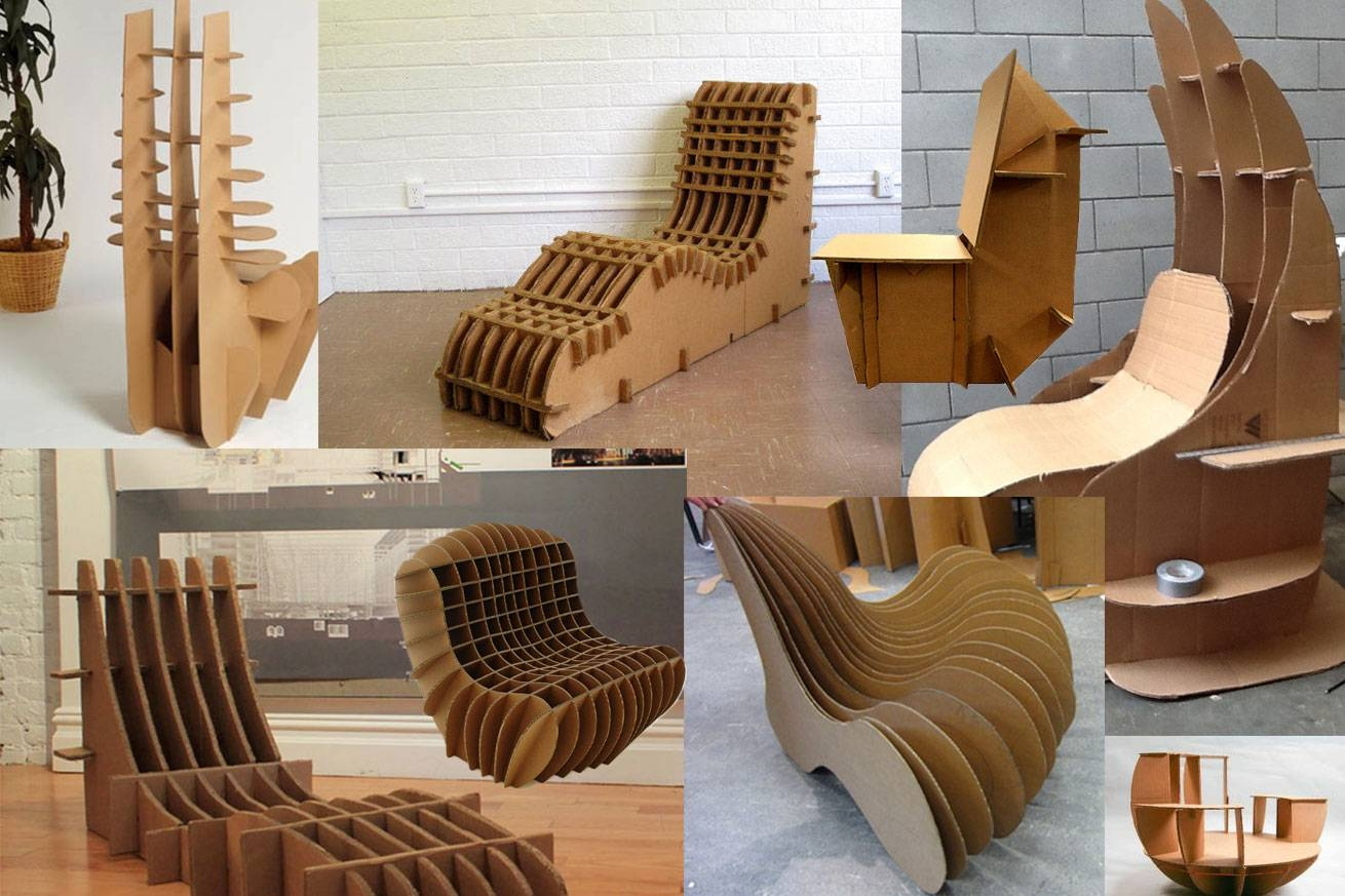 Cardboard Furniture: Italian Design Companies - House Design in Cardboard Sofas (Image 7 of 15)