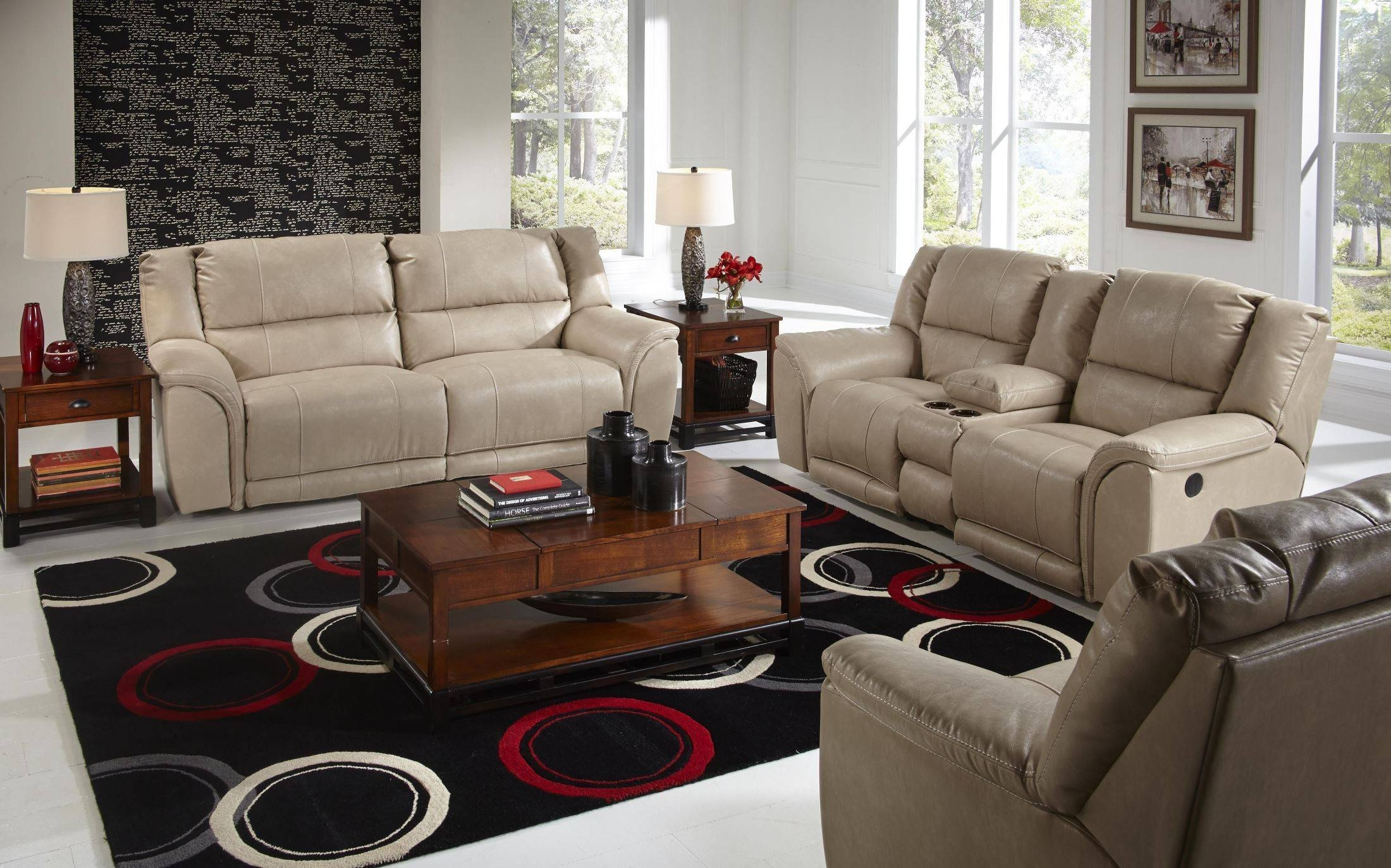 Carmine Pebble Power Reclining Living Room Set From Catnapper intended for Catnapper Reclining Sofas (Image 4 of 15)