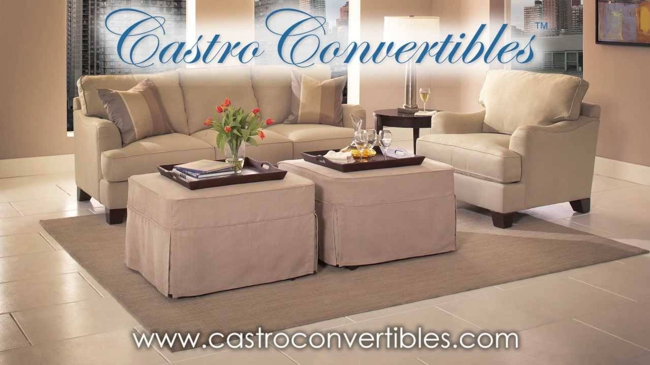 Castro Convertibles: Sale On The Deluxe (Twin) Ottoman – Youtube With Regard To Castro Convertible Sofas (View 2 of 15)