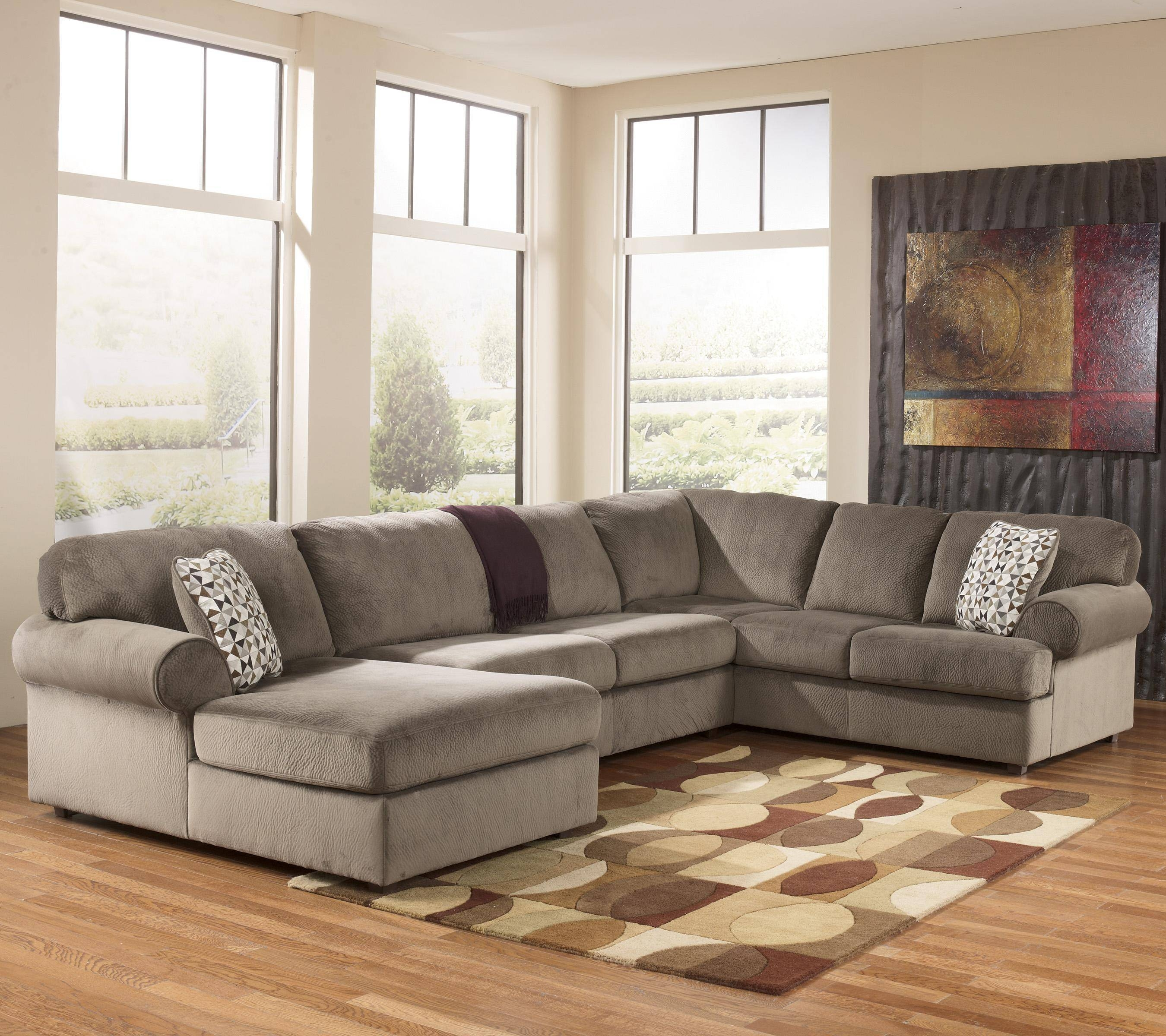Casual Sectional Sofa With Left Chaisesignature Design with regard to Signature Design Sectional Sofas (Image 2 of 15)