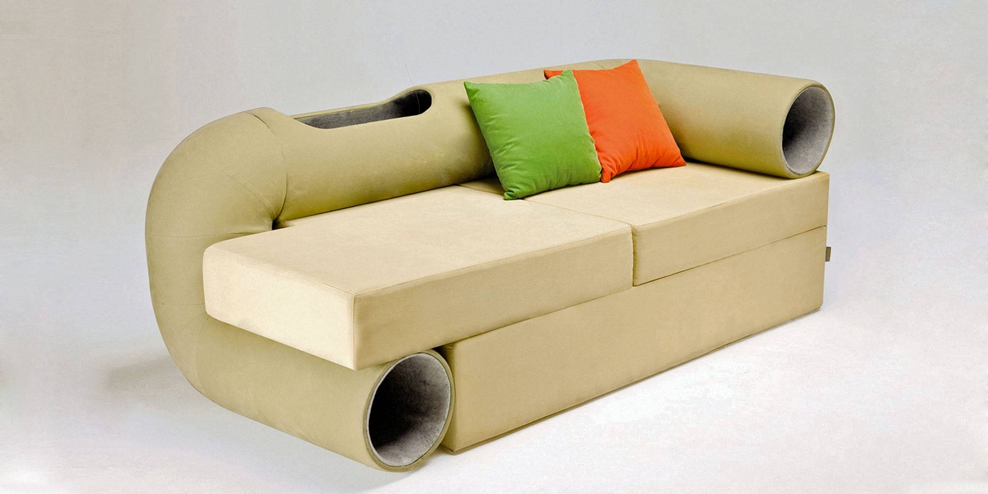 Cat Tunnel Sofa for Cat Tunnel Couches (Image 3 of 15)