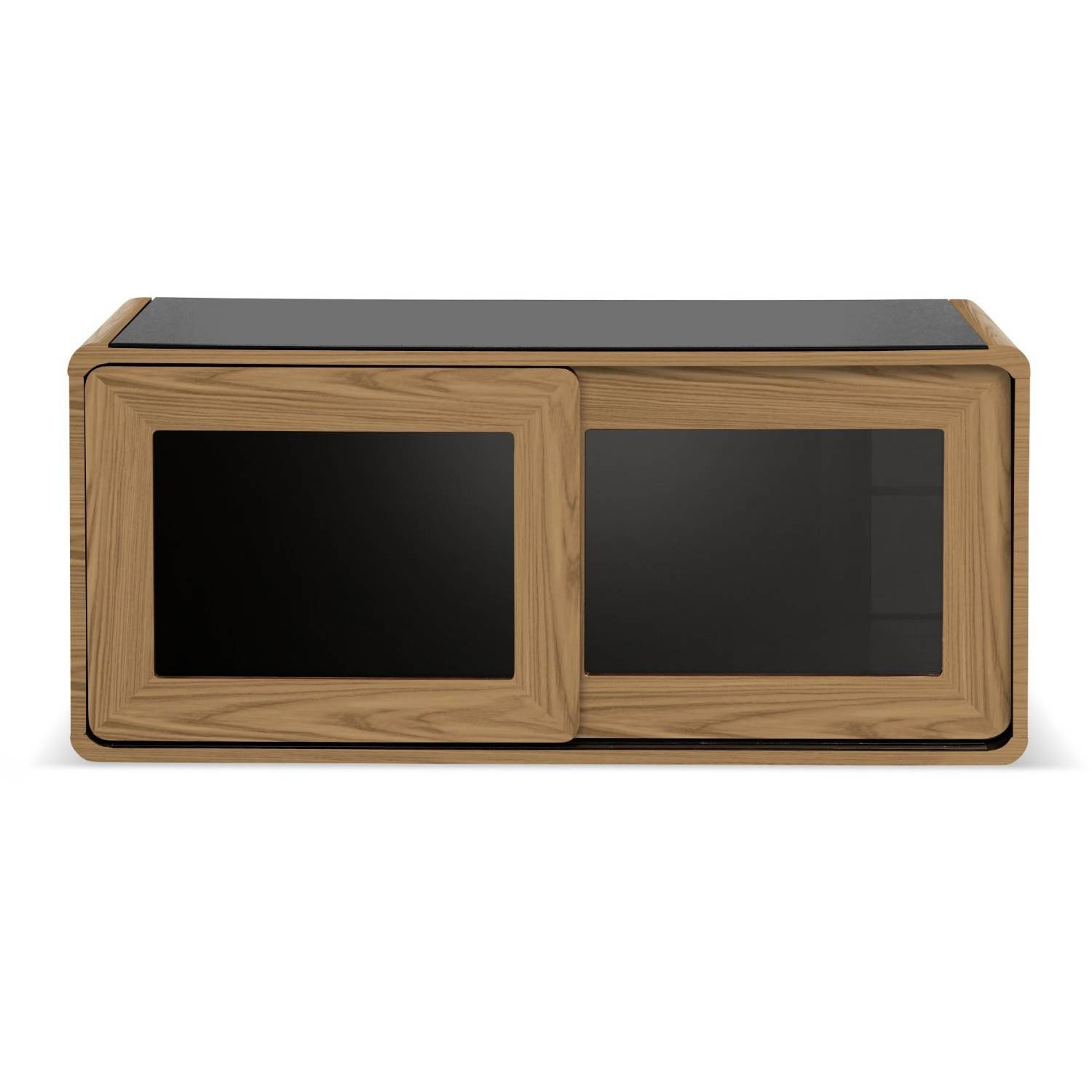 Centurion Supports Nora Oak With Beam Thru Glass Sliding Door Tv Intended For Beam Thru Tv Cabinet (View 15 of 15)