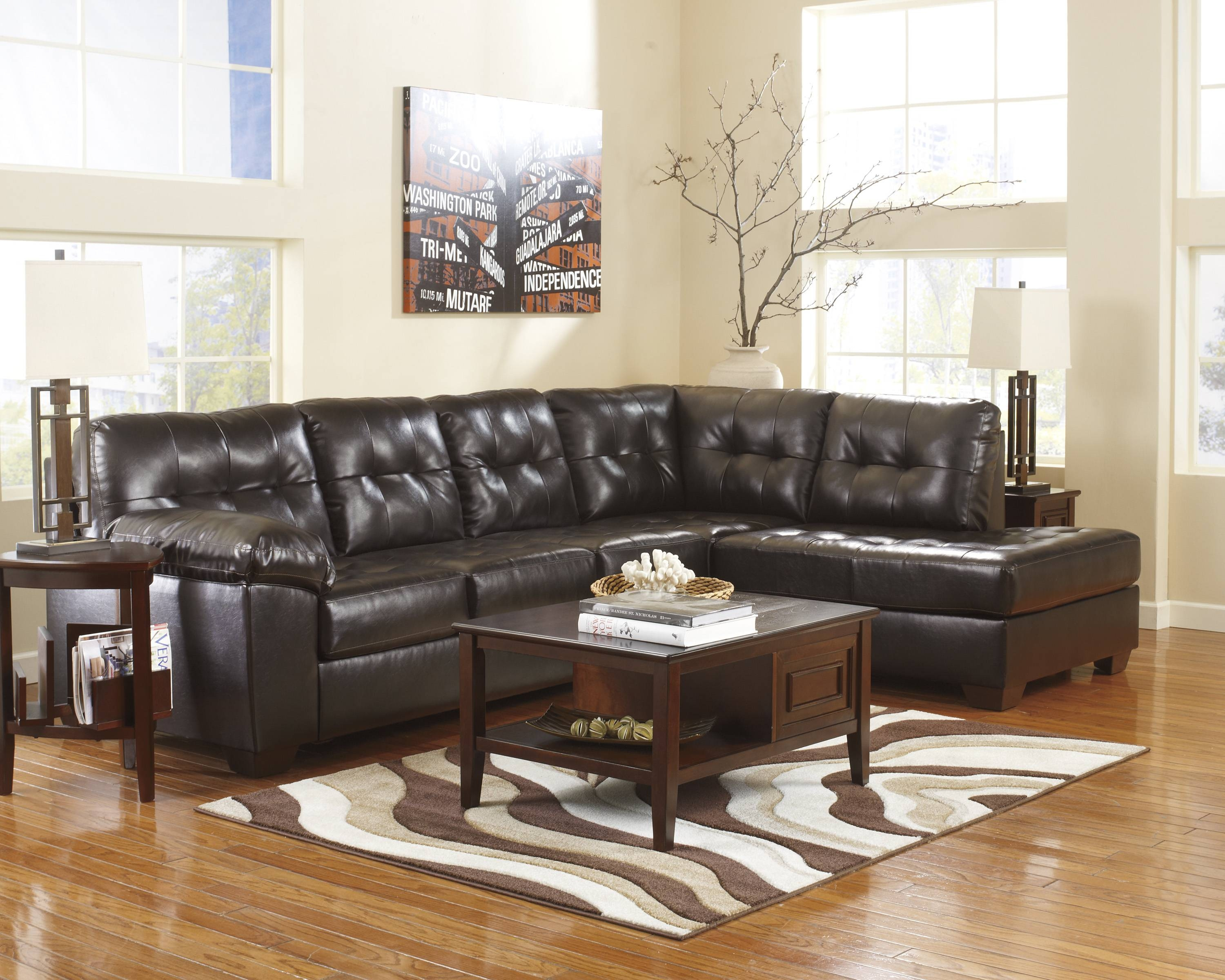 Chair & Sofa: Ashley Furniture Sectional Sofas | Sofa Sectionals in Ashley Faux Leather Sectional Sofas (Image 2 of 15)