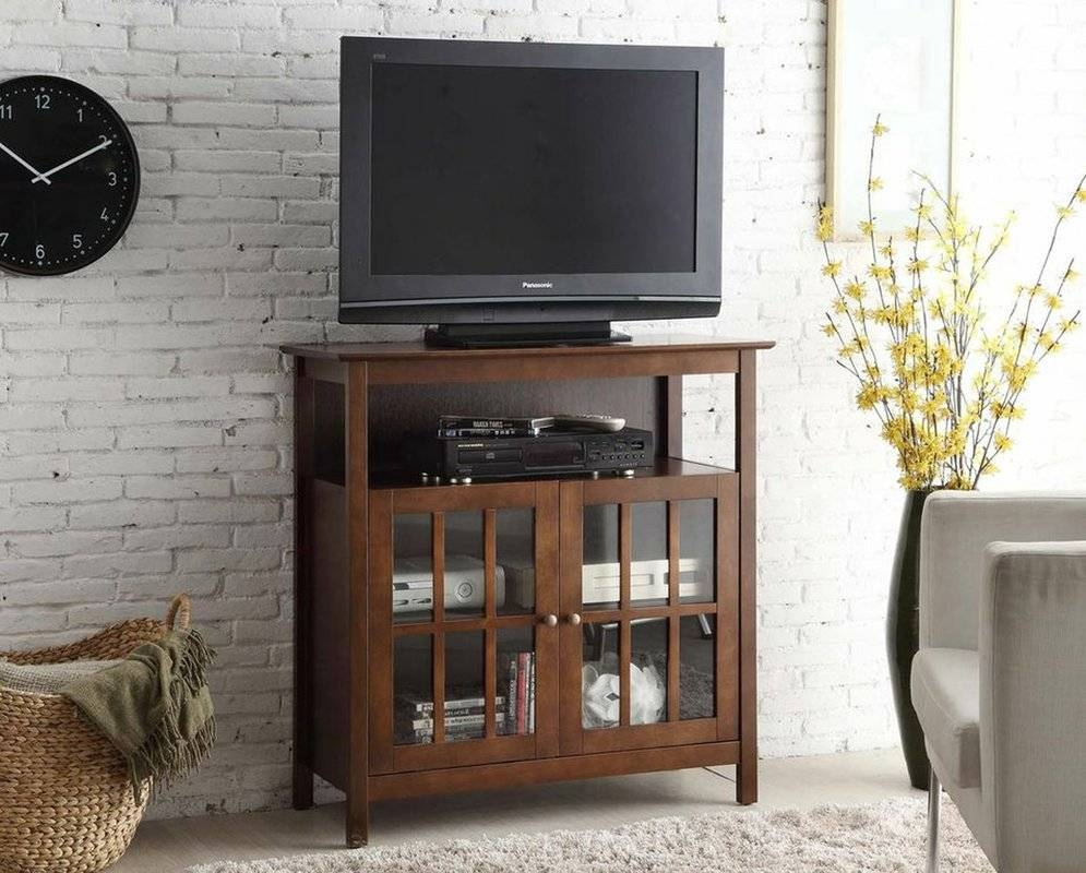 "Charlton Home Schererville 36"" Tv Stand & Reviews 