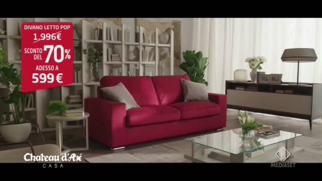 Chateau D'ax Divani Spot 2016 - Youtube within Divani Chateau D'ax Leather Sofas (Image 5 of 15)