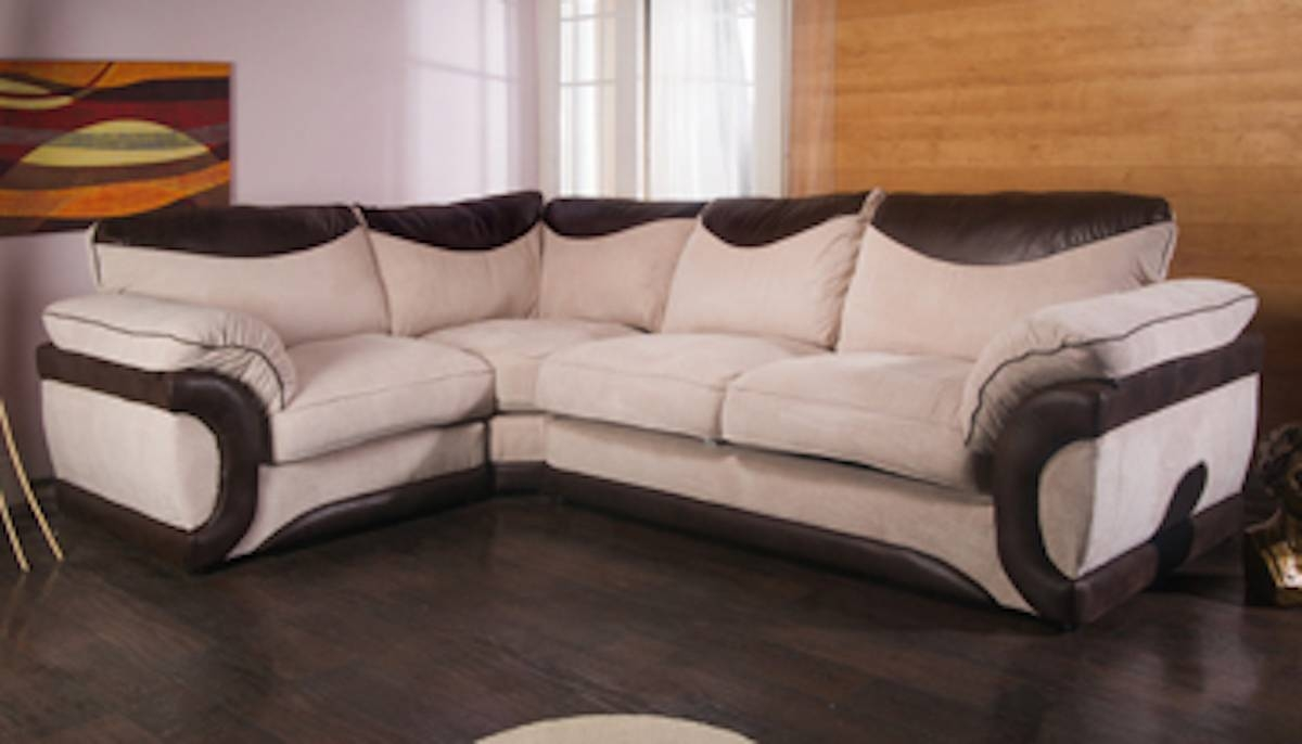 Cheap Corner Sofa Beds Uk | Centerfieldbar with regard to Black Leather Corner Sofas (Image 3 of 15)