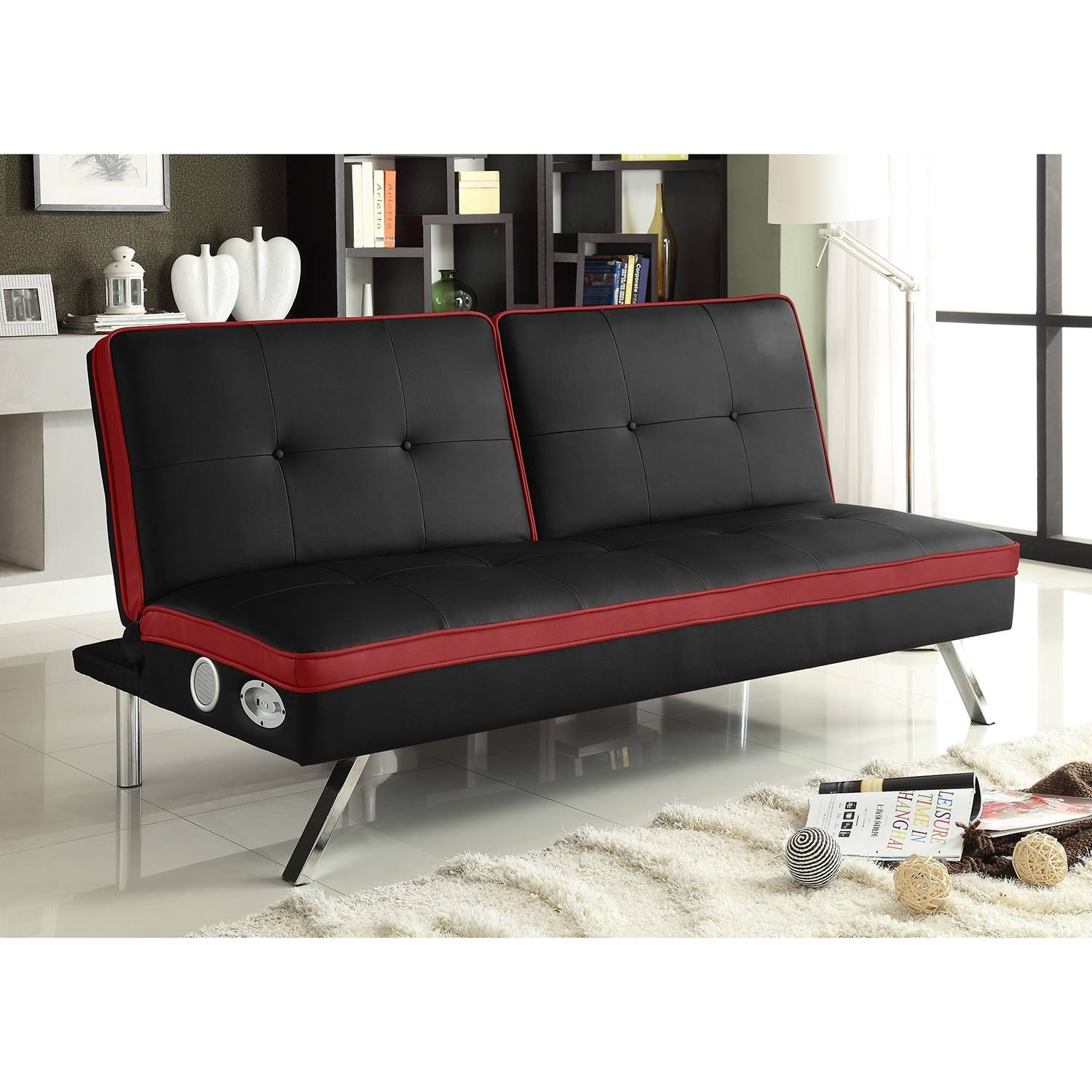 Cheap Futons Small : Roof, Fence & Futons - Choosing Cheap Futons regarding Small Black Futon Sofa Beds (Image 4 of 15)
