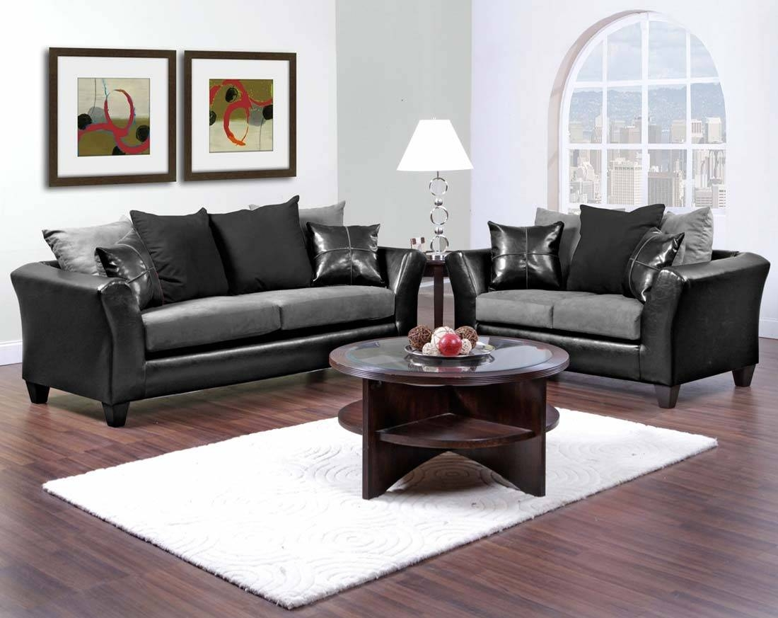 Cheap Sofas And Loveseats Sets | Centerfieldbar Pertaining To Black And White Sofas And Loveseats (View 9 of 15)