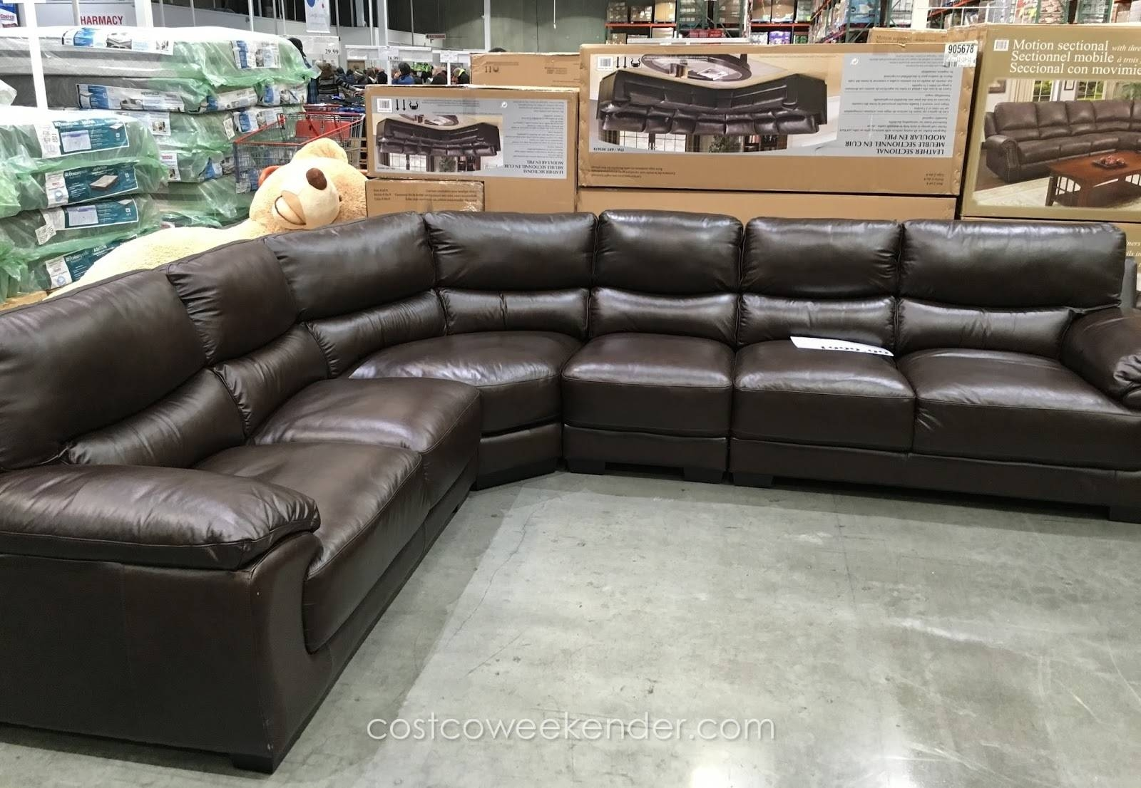 Cheers Clayton Leather Sofa Costco Review   Revistapacheco Intended For Cheers Leather Sofas (Photo 13 of 15)