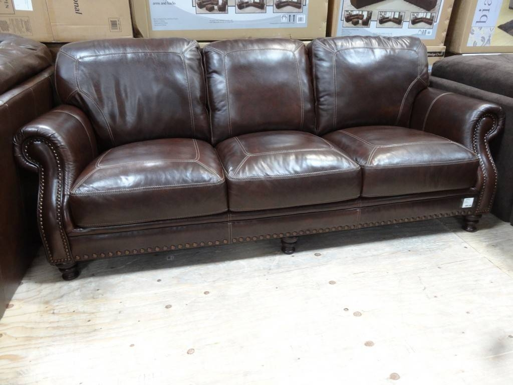 Cheers Clayton Leather Sofa Costco Review - Revistapacheco with Cheers Leather Sofas (Image 3 of 15)