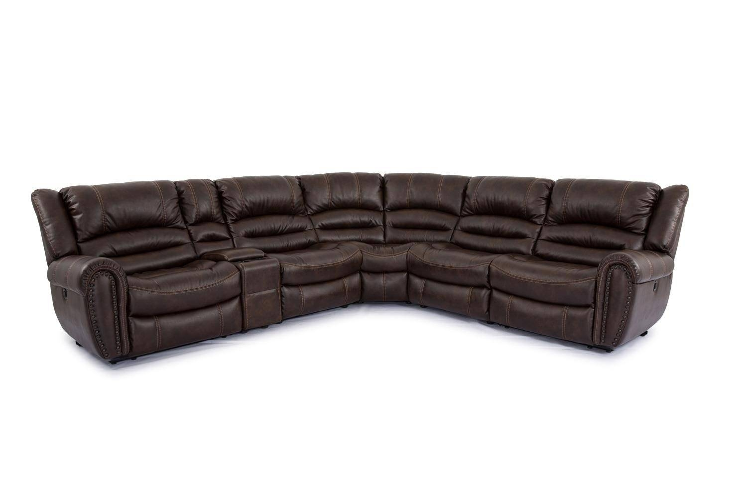 Cheers Sofa Cheers Sofa 6 Piece Sectional - Boulevard Home for Cheers Leather Sofas (Image 6 of 15)