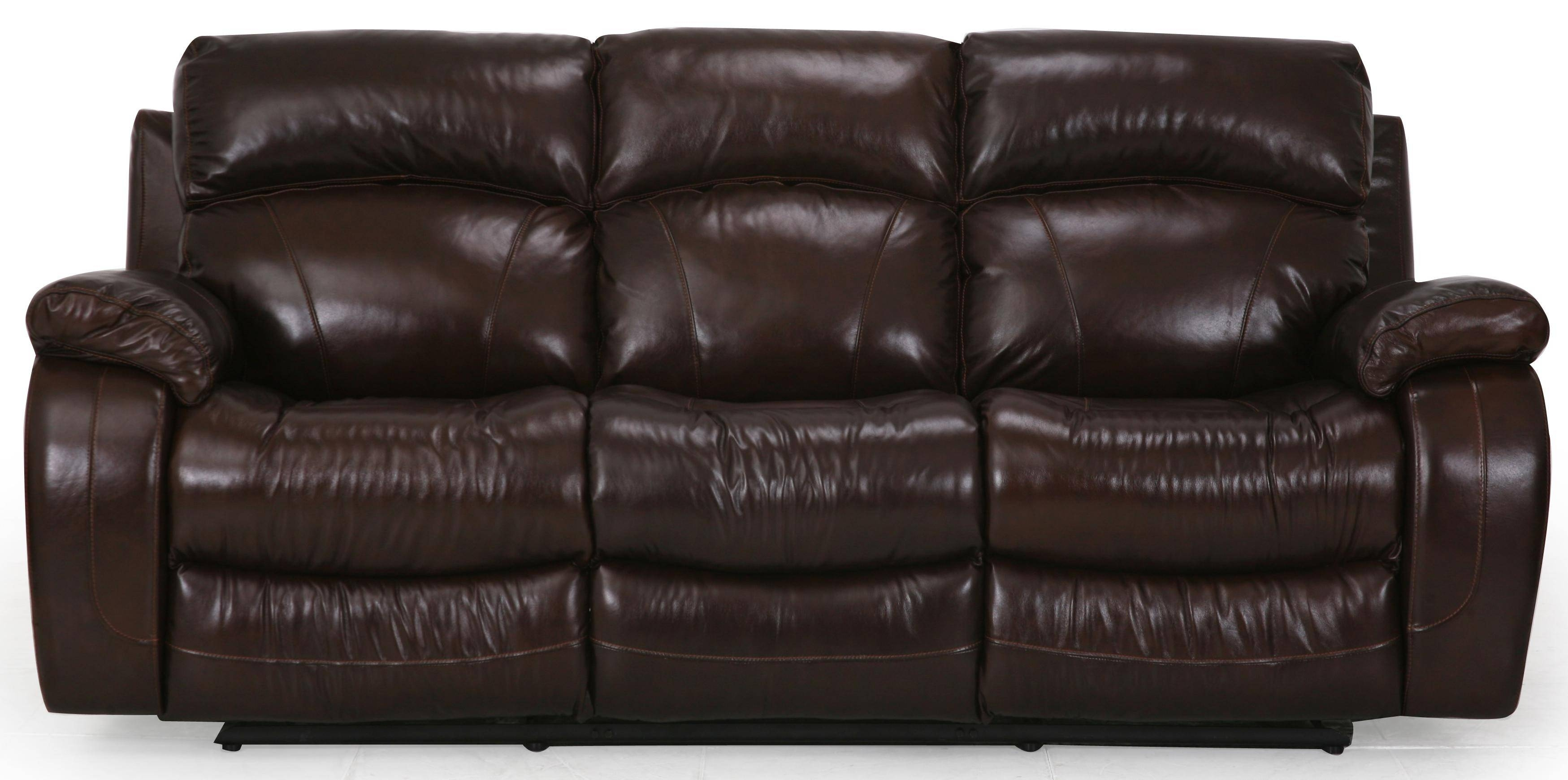 Cheers Sofa Luke Leather Reclining Sofa - Great American Home regarding Cheers Leather Sofas (Image 7 of 15)