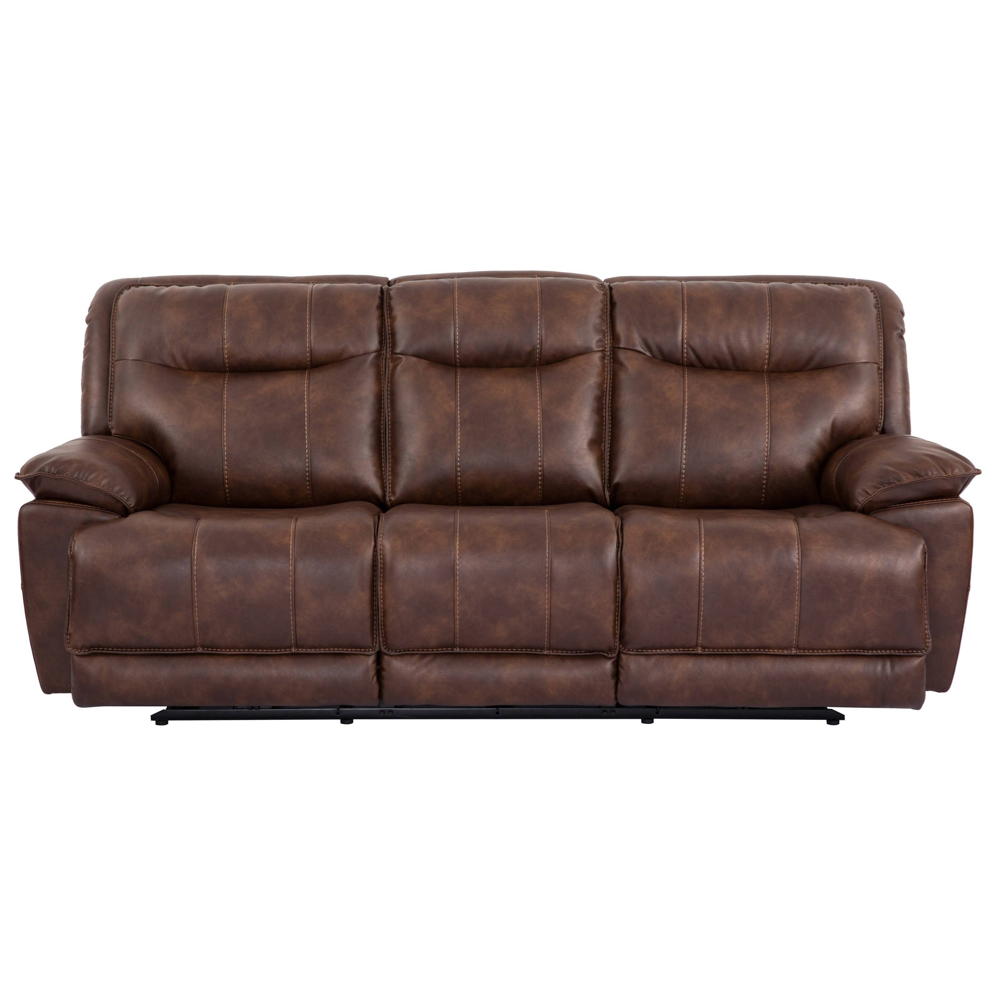 Cheers Sofa X9918M Reclining Sofa With Pillow Arms - Royal pertaining to Cheers Sofas (Image 7 of 15)