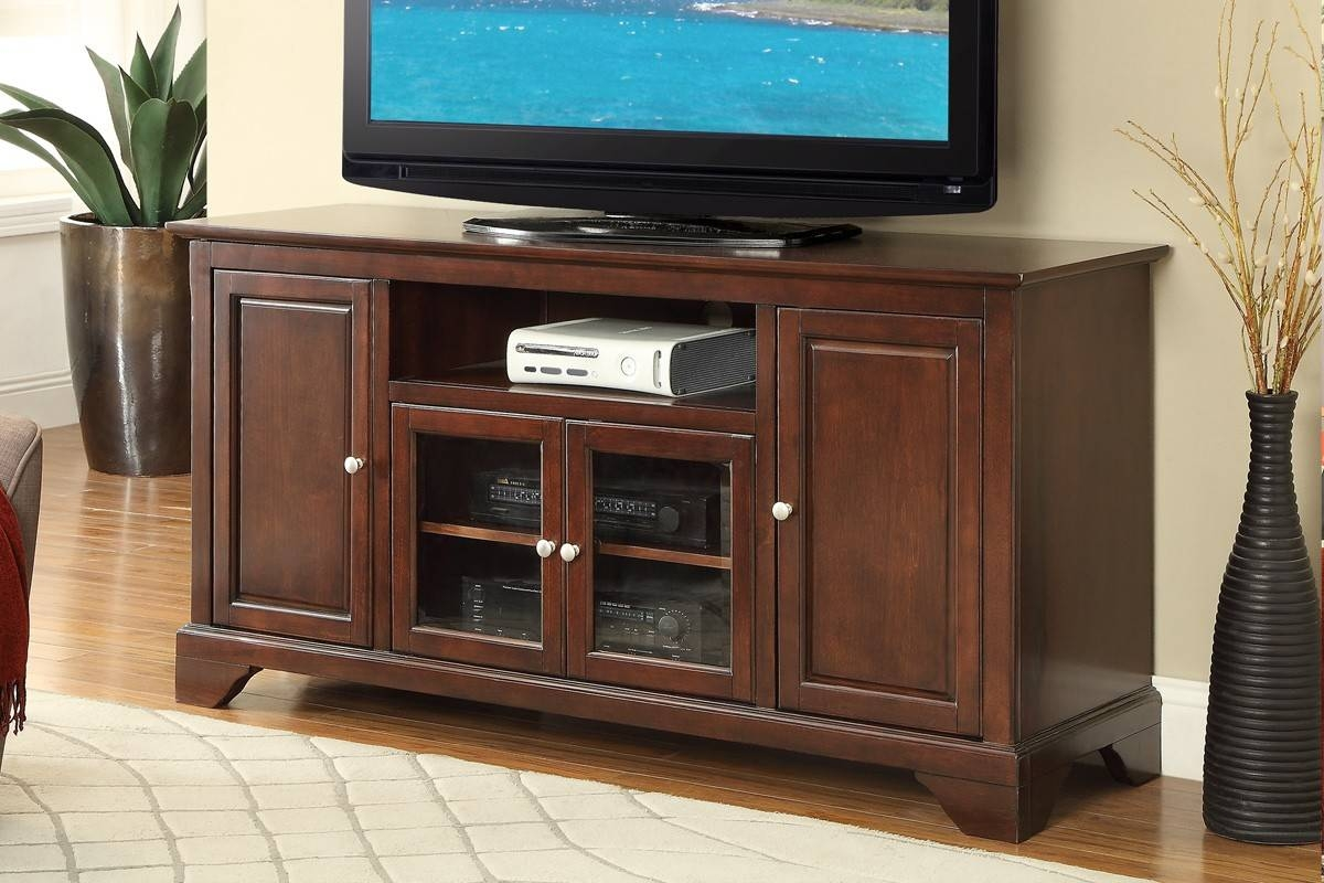 Cherry Wood Tv Stand with Cherry Wood Tv Stands (Image 4 of 15)