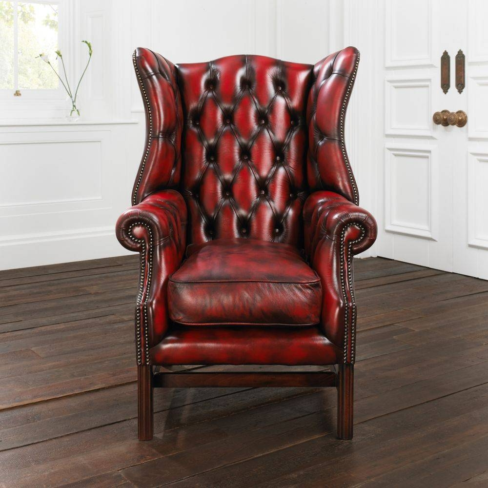 Chesterfield Sofas - Faq for Red Leather Chesterfield Chairs (Image 5 of 15)