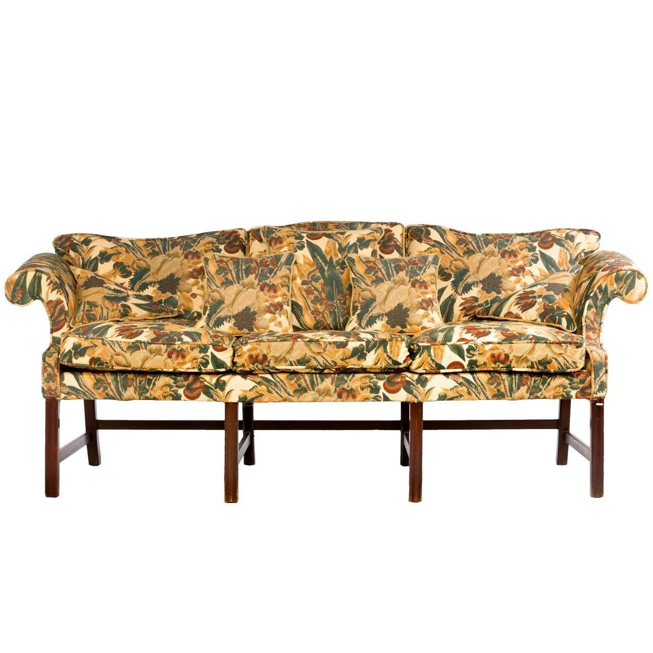 Chippendale Period Camel Back Sofa For Sale At 1Stdibs in Chippendale Camelback Sofas (Image 7 of 15)