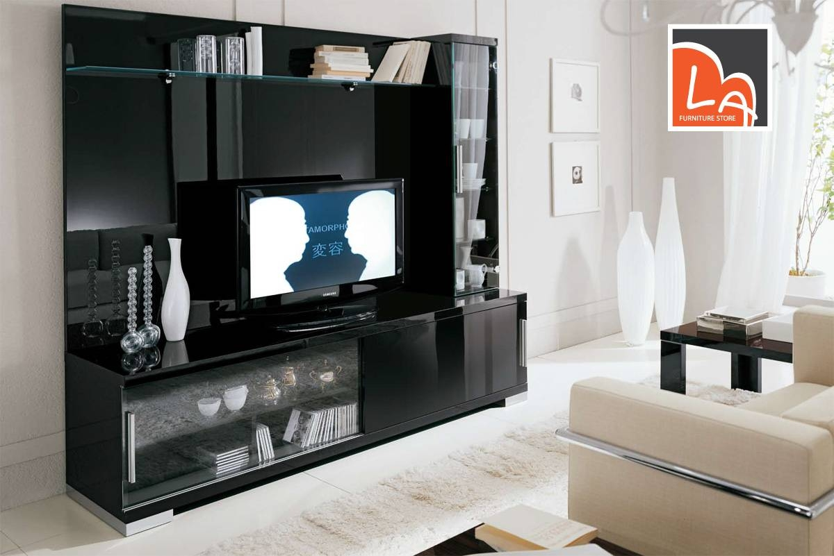 Choosing Between Small And Big Tv Stands - La Furniture Blog intended for Big Tv Stands Furniture (Image 2 of 15)