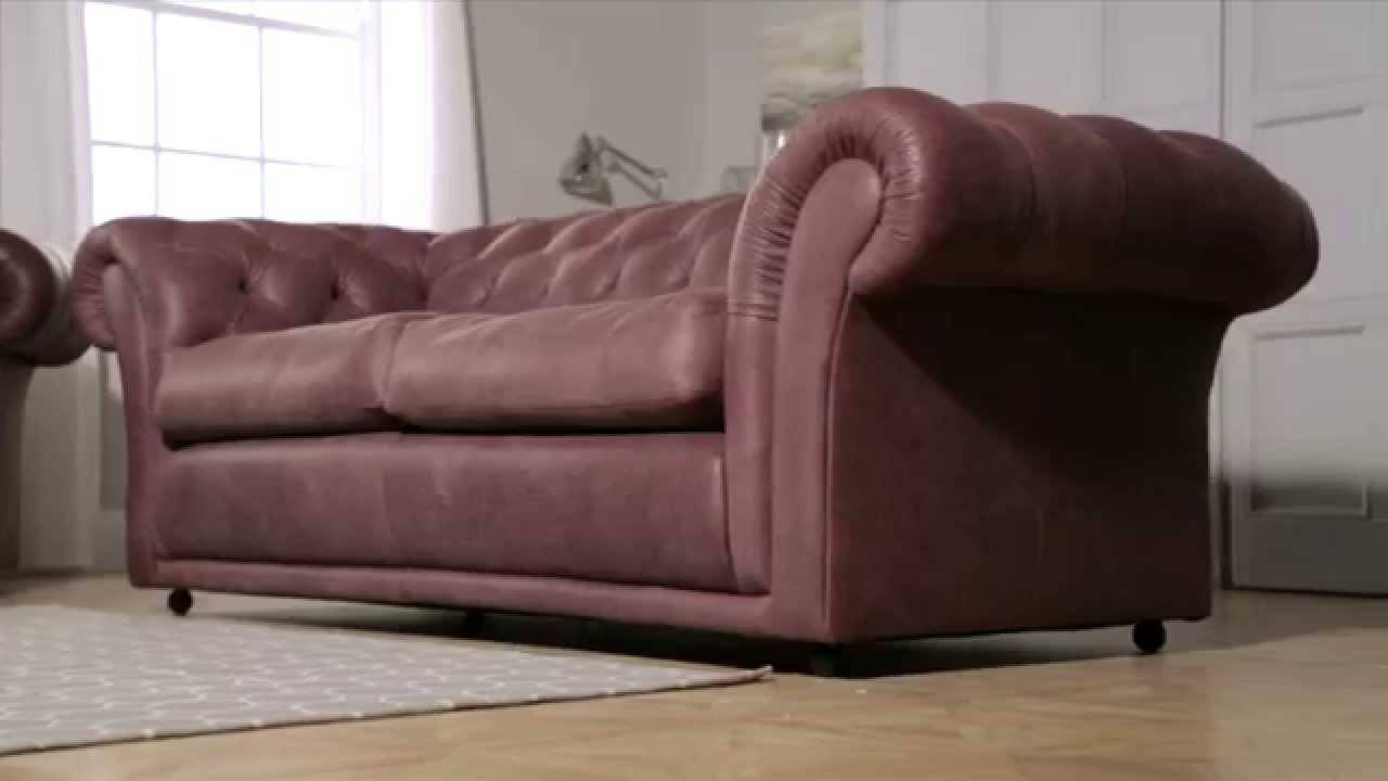 Churchill Chesterfieldsofasaxon - Youtube with regard to Churchill Sofas (Image 9 of 15)
