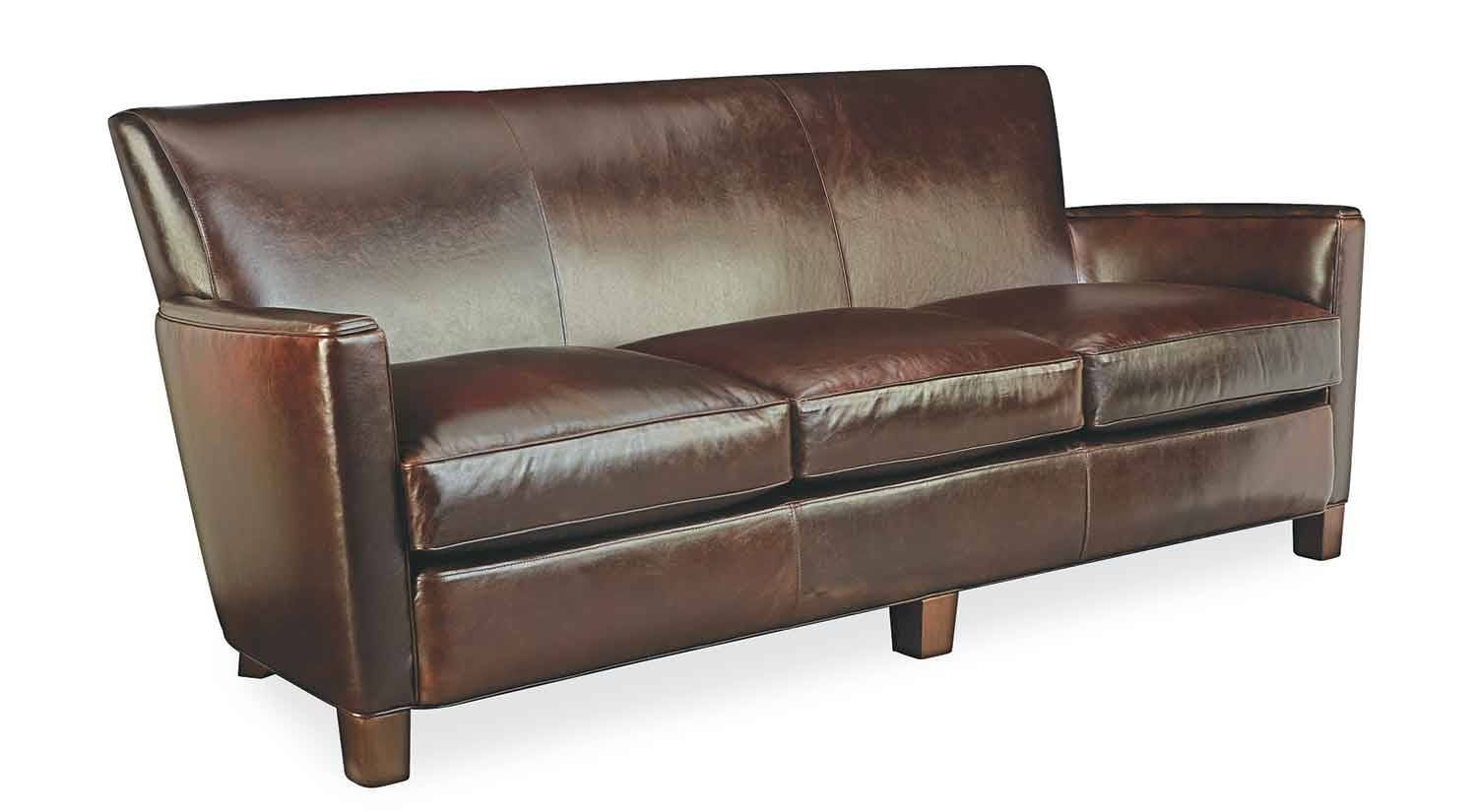 Circle Furniture - Trent Leather Sofa | Leather Sofas Ma | Circle in Camel Color Leather Sofas (Image 5 of 15)